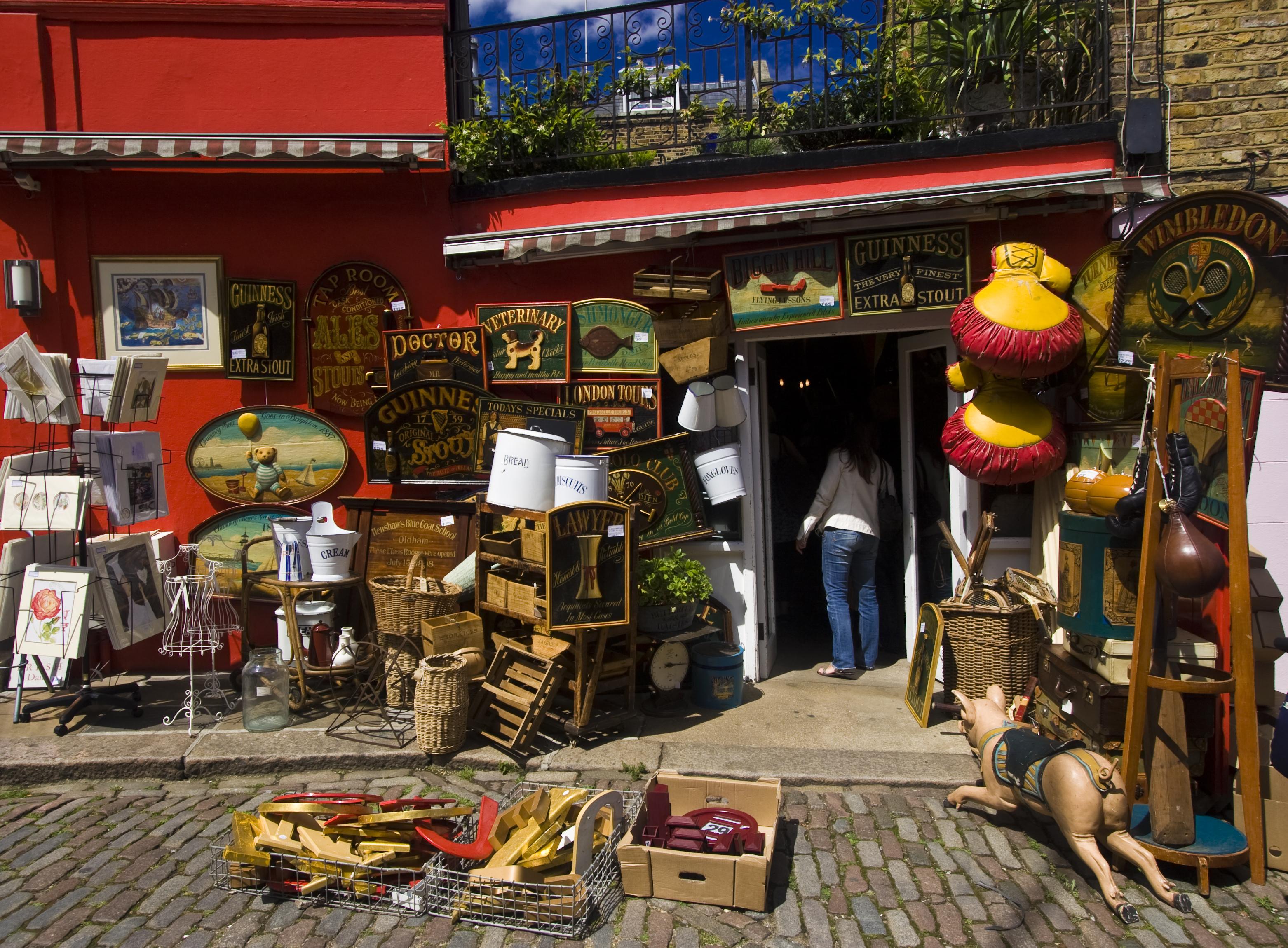 portobello market antiques