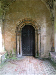 vaulted porch