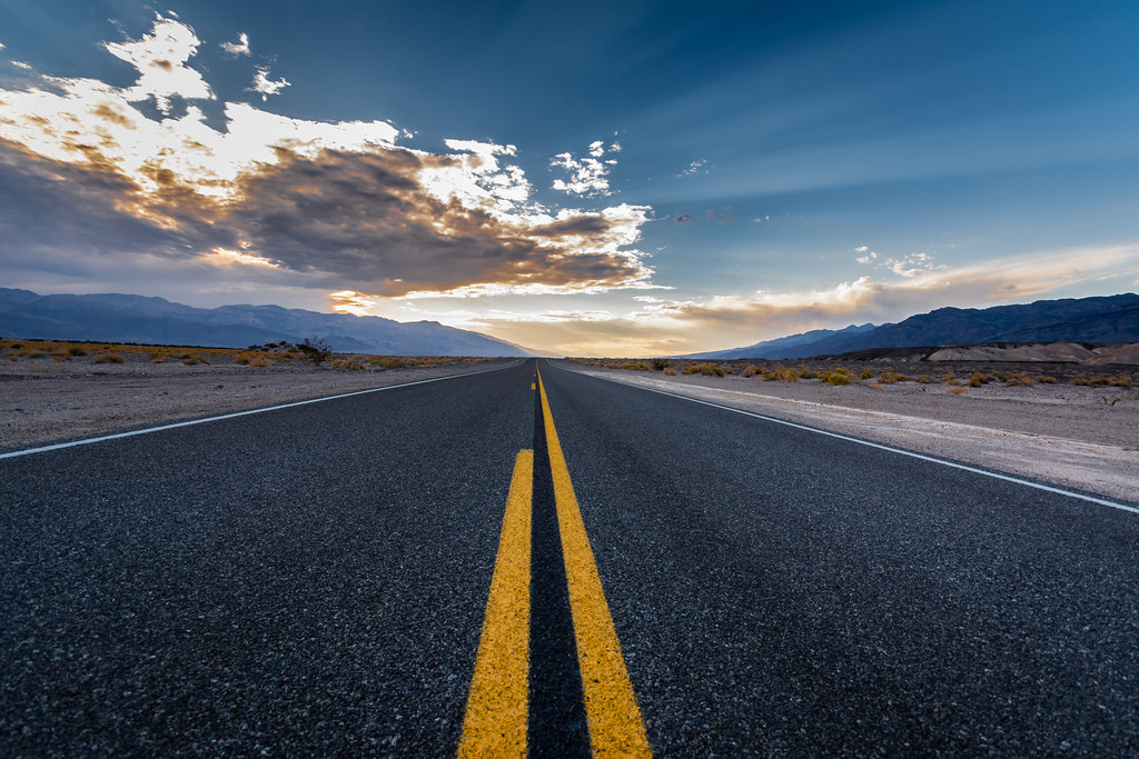 Road to Furnace Creek - Death Valley NP