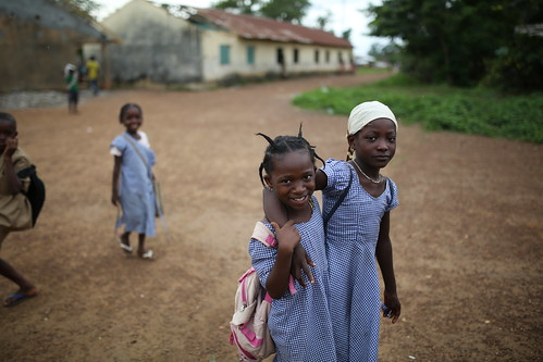 Kids walking | by World Bank Photo Collection