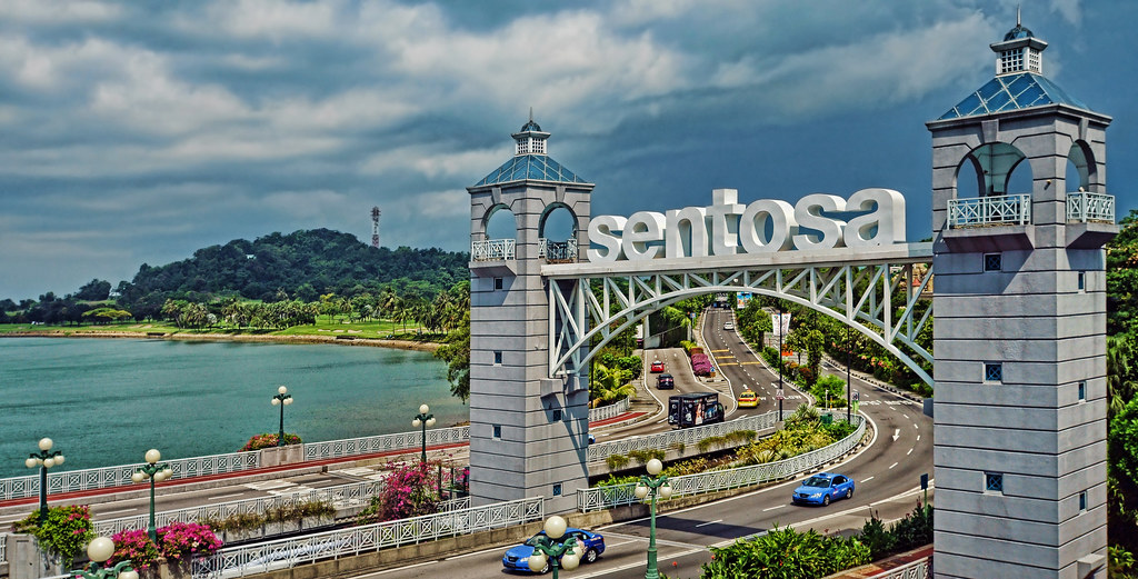 Gateway To Resorts World Sentosa, Singapore