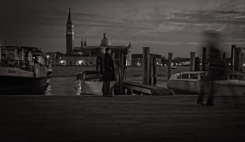 Ghosts, just like people, arrive to Venice by boat | by Tigra K