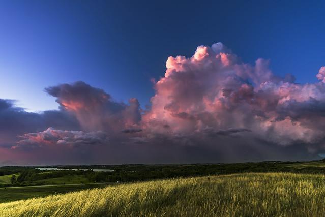 A Polyphonic Prairie Sunset