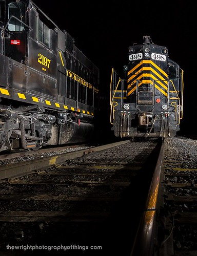 RAIL REFLECTION   by The Wright Photography of Things