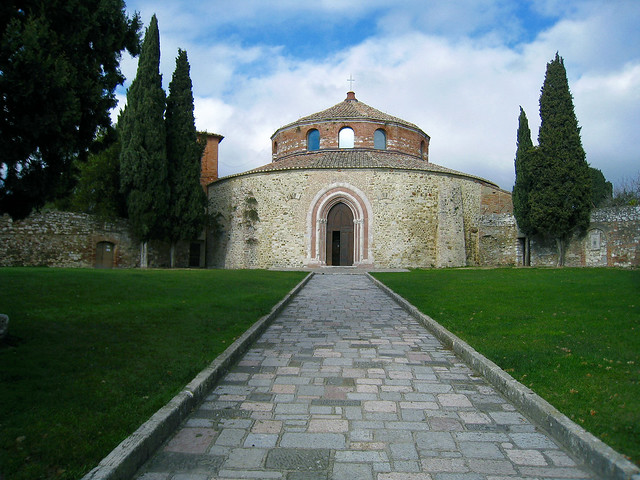 Perugia (Italy) - Tempietto Paleocristiano