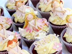 Fairy Blossom Princess Cupcakes by Sugarbloom Bev
