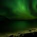 aurora in Flateyri by jovinsson