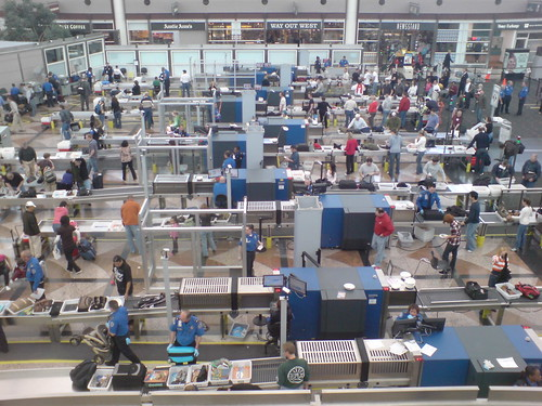 security screening at denver airport | by Inha Leex Hale