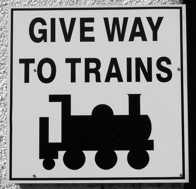 Give Way to Trains!