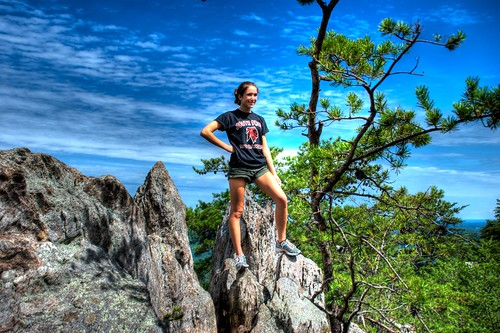 mountain cute girl geotagged nicole nc nikon top peak northcarolina summit hdr gaston crowders crowdersmountain gastonia photomatix tonemapped d80 gastoncounty dougjohnson geo:lat=35233143 geo:lon=81274565 bigjohnsonphotoblogspotcom