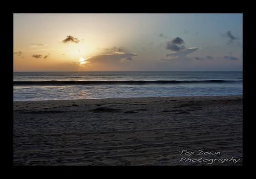 ocean sun beach clouds sunrise sand waves northcarolina outerbanks atlanticocean