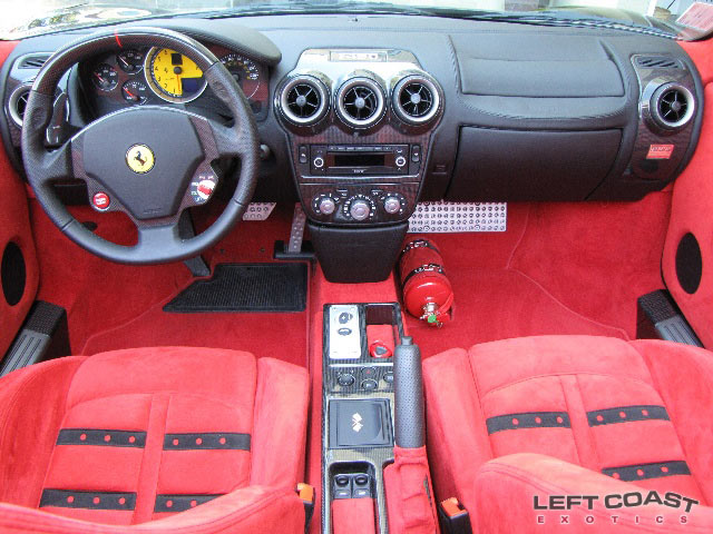 2008 Ferrari F430 Spider F1 Interior The Cockpit Of An Exo Flickr