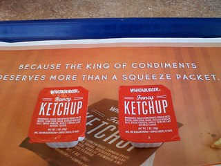 Whataburger ketchup | by niseag03