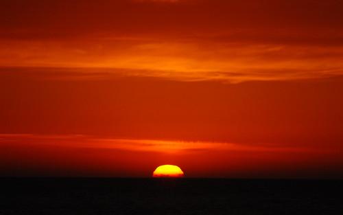 Sunset @ Noordwijk