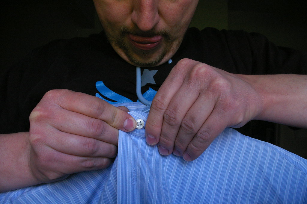 How to hang up a shirt