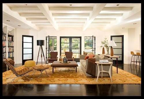 Surprising Open Living Room Neutral Mix Modern Furniture Antique Theyellowbook Wood Chair Design Ideas Theyellowbookinfo