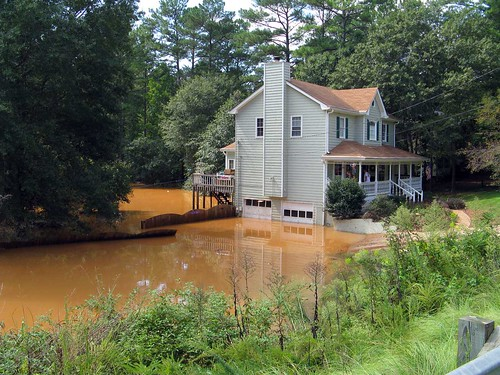 Submerged Yellow River Home