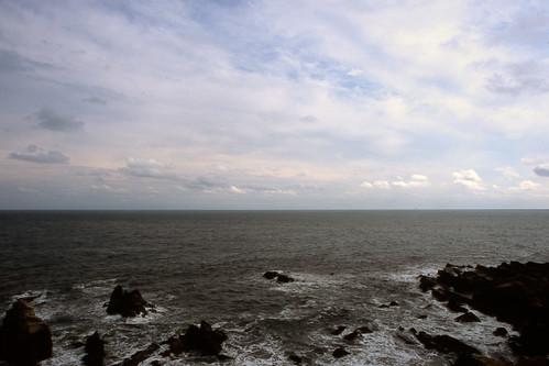 ocean sea canon geotagged horizon chiba fujifilm newf1 choshi trebi100c inubozaki geo:lat=35707906 newfd24mmf2 geo:lon=140868448