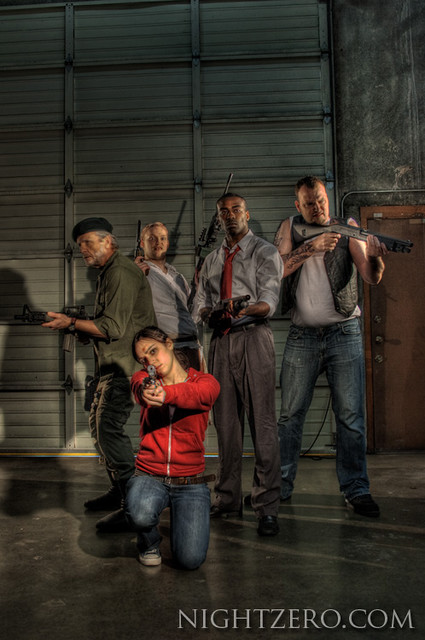 Left 5 Dead | The full cast of Left 5 Dead www nightzero com