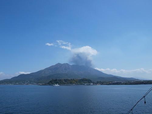 桜島 Sakurajima (taken at Sakurajima ferry ) P3244053 | by beve4