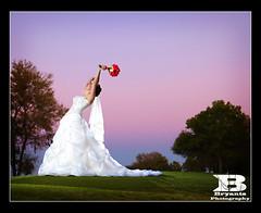 Sunset Bride | by bryantsphotography
