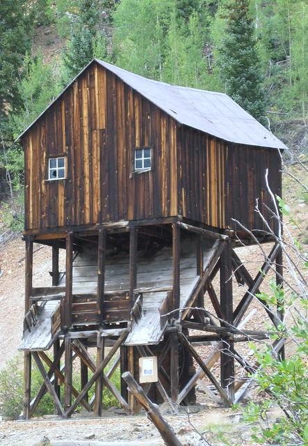 Mining Ruin along the Million Dollar Highway