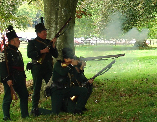 95th Rifles in action