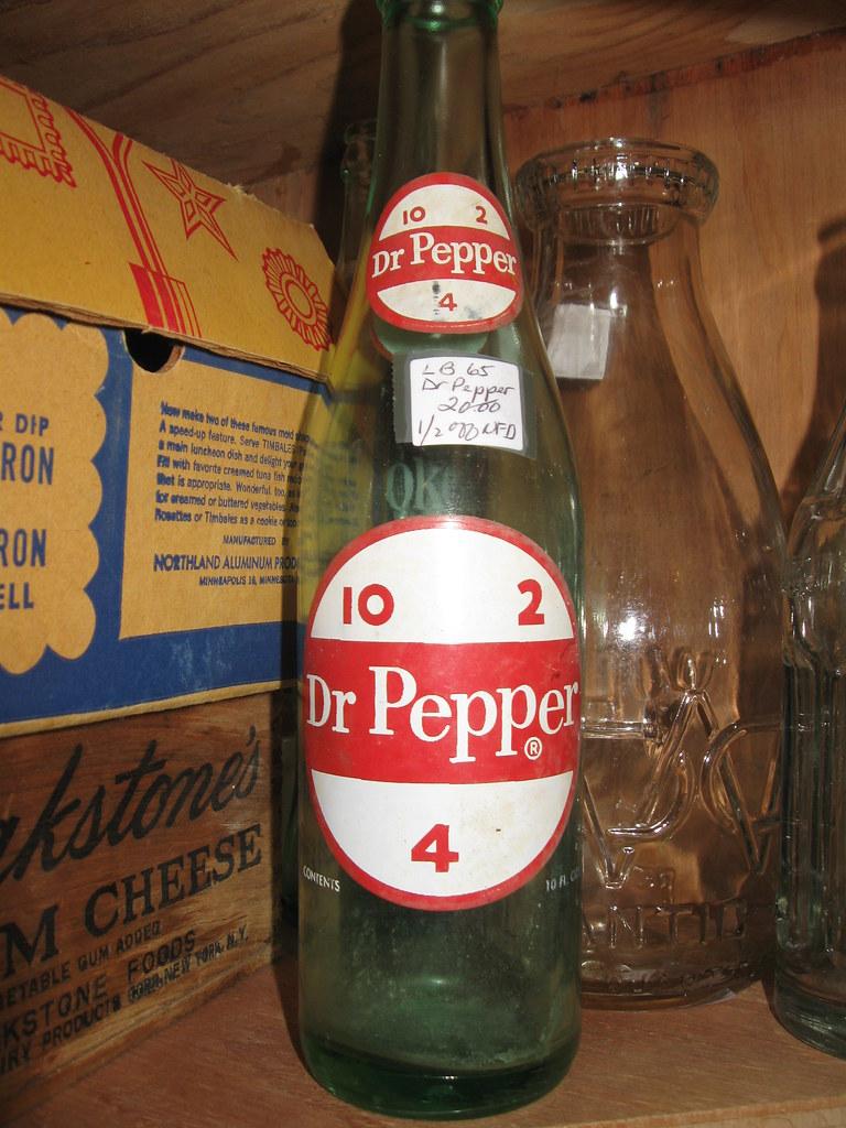 Bottles pepper old 2 dr 4 10 Vintage Dr