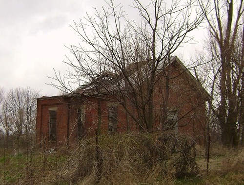 county school ohio house brick abandoned rural one decay clinton room forgotten schoolhouse martinsville