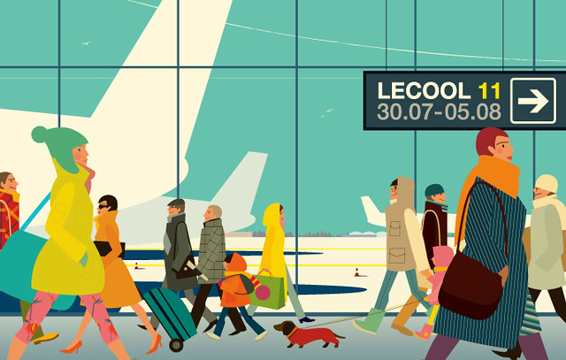 Maria Zaikina, cover for le cool_moscow *011