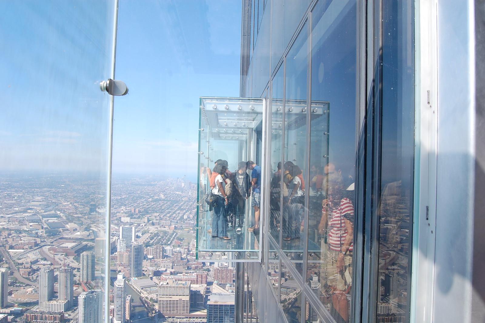 SkyDeck Chicago Willis Tower, 9/4/09