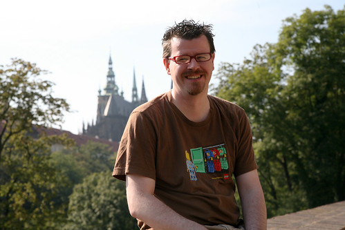 me with prague castle in the background | by akira_kev
