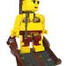 Rocko's Delight: Slave Leia minifig 6x scale