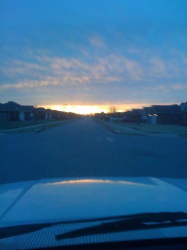sunset sun ar bentonville