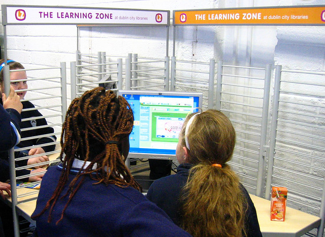 Learning Zone at Finglas Library
