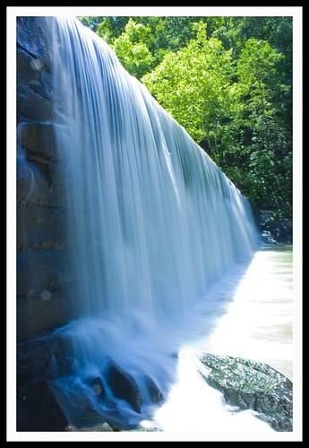 water waterfall hollinsmill