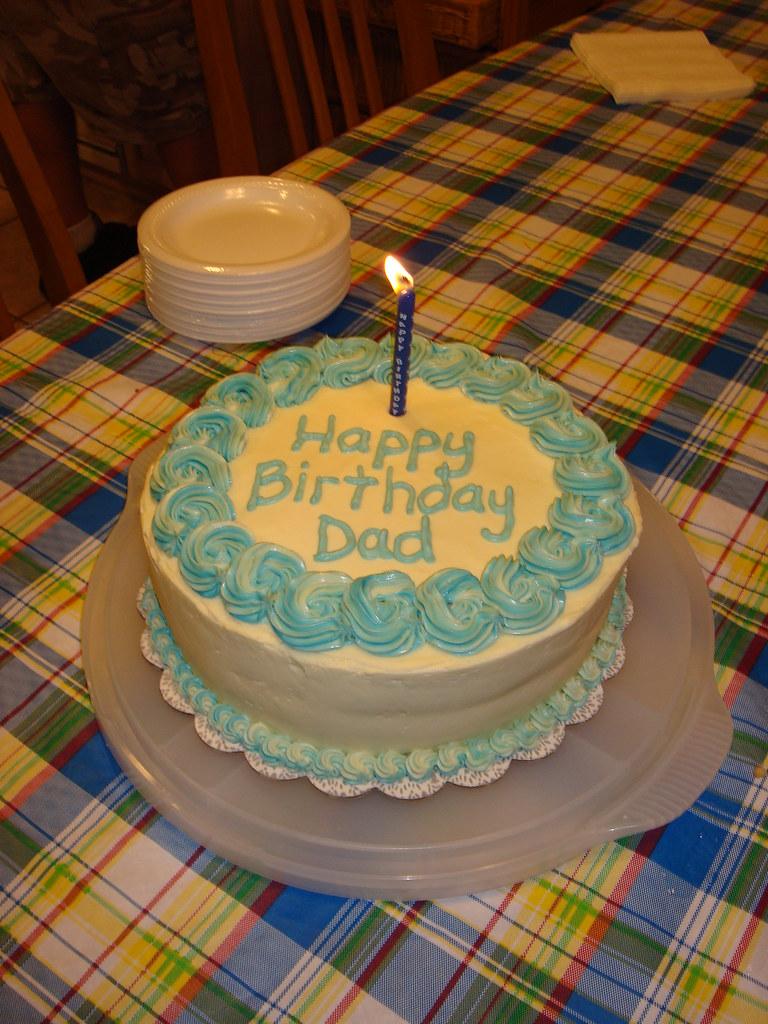 Cool Dads Birthday Cake Quick Birthday Cake For My Dad Strawbe Flickr Birthday Cards Printable Trancafe Filternl