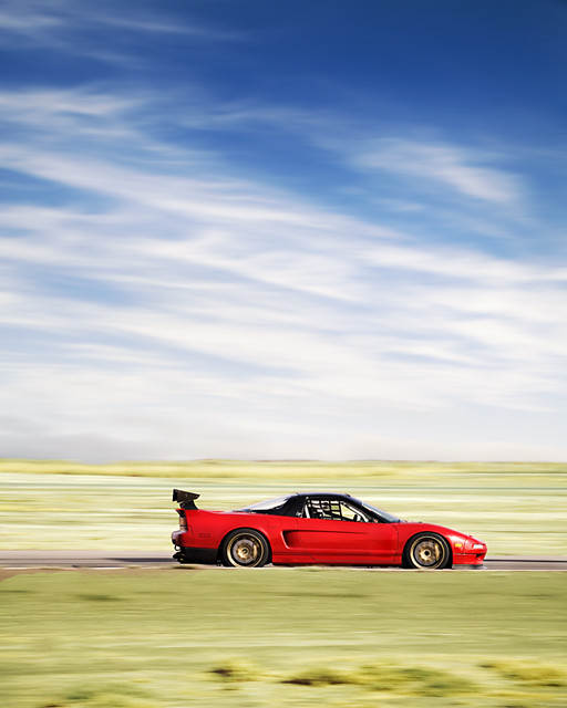 Acura NSX At Buttowillow Racetrack