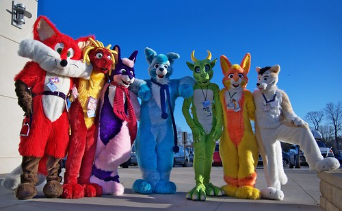 United Colors of Furry Fandom | by GreenReaper