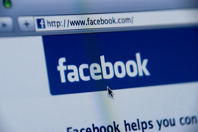 ... facebook website screenshot - by Spencer E Holtaway