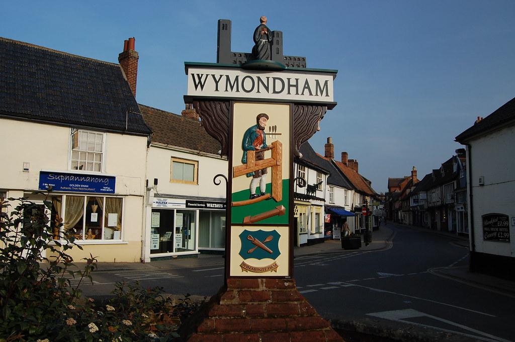 Wymondham Norfolk Wymondham Pronounced Windham Lies A Flickr
