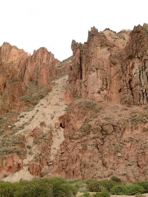 Las rocas en la Paz