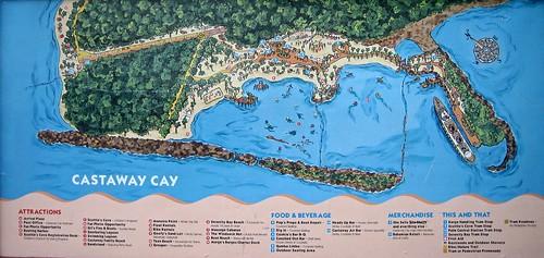 Castaway Cay Map | by Gator Chris