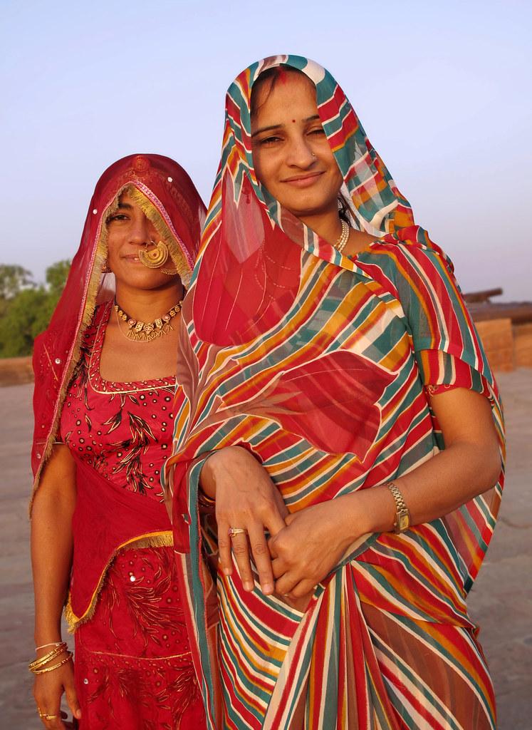 Frau aus Jodhpur