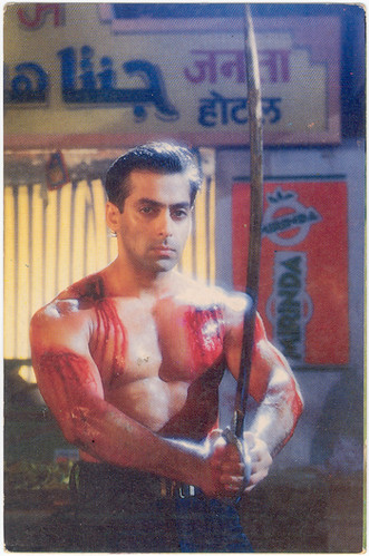 Salman Khan Salman Khan In Veergati Film Action 1995 Tarik