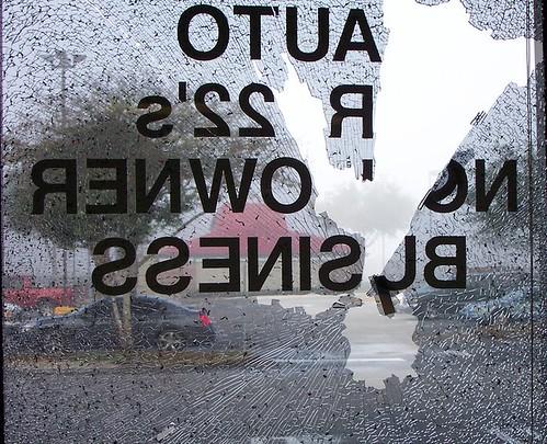 broken glass geotagged
