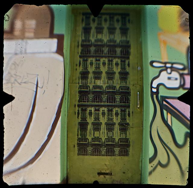 Street Art, Young Street, Fitzroy, Melbourne  (TTV-090319-2135-H)