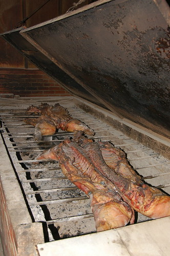 Skylight Inn: Smoking Hogs with Oak (LBRDY09) | by Rob Bellinger