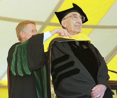 Wake Forest University Commencement, 1999