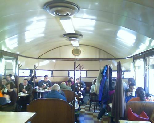 Inside the Modern Diner